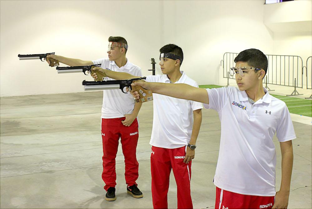 Acaba el Tiro Deportivo actuación en olimpiada nacional con 3 preseas