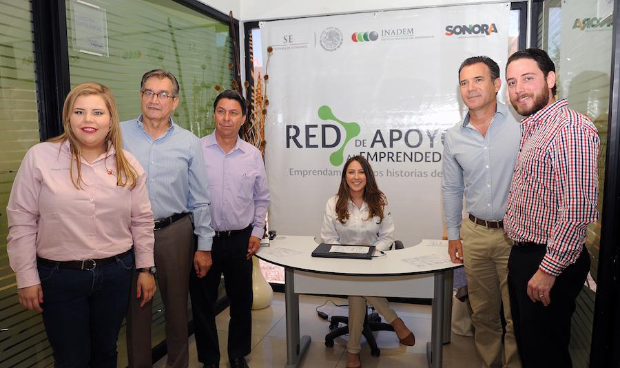 Inaugura Secretario de Economía la Red Sonora de Apoyo al Emprendedor