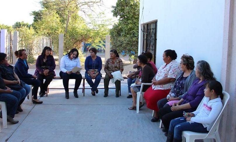 Trabaja Brenda Jaime en iniciativas a favor de las mujeres