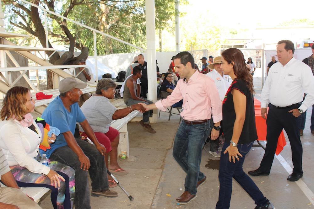 Anuncia Maloro Acosta mejor atención a personas en situación de calle