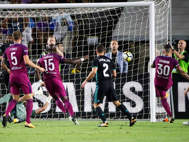 Manchester City sacude al Real Madrid