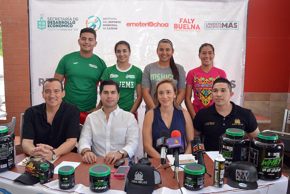Anuncian programa de rehabilitación física a deportistas destacados de Cajeme