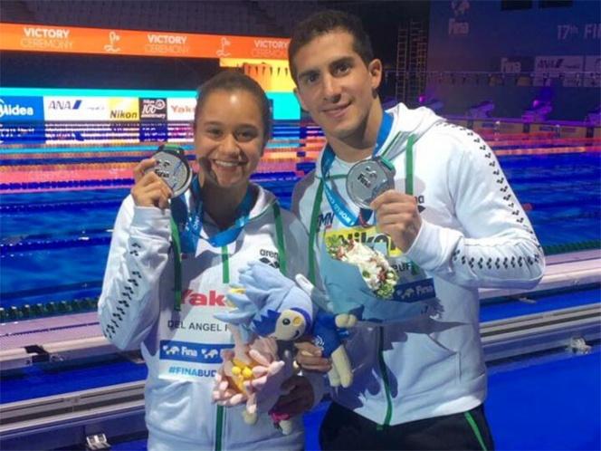 Histórica medalla para México en equipos mixtos