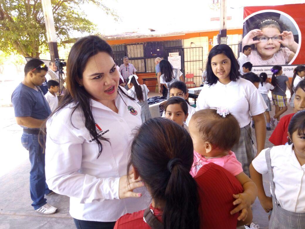 Dará Brenda Jaime lucha contra la obesidad en alumnos de educación básica