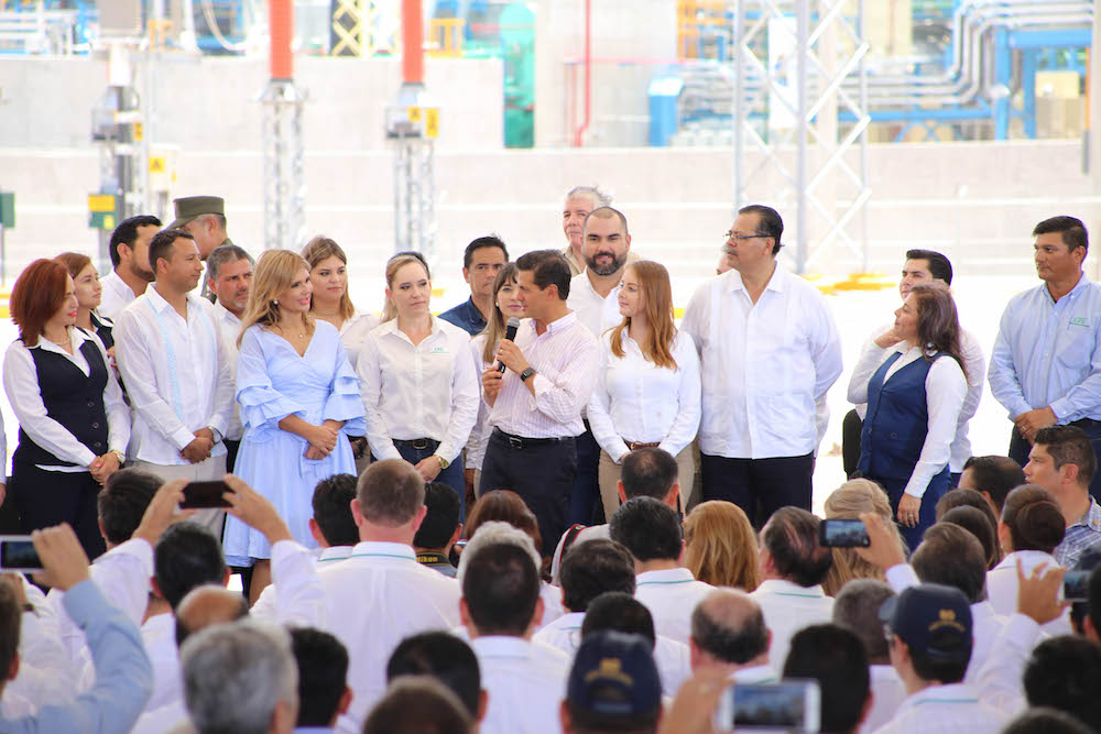 Coinciden Presidente Peña y Gobernadora Pavlovich: Sonora con gran potencial en energía