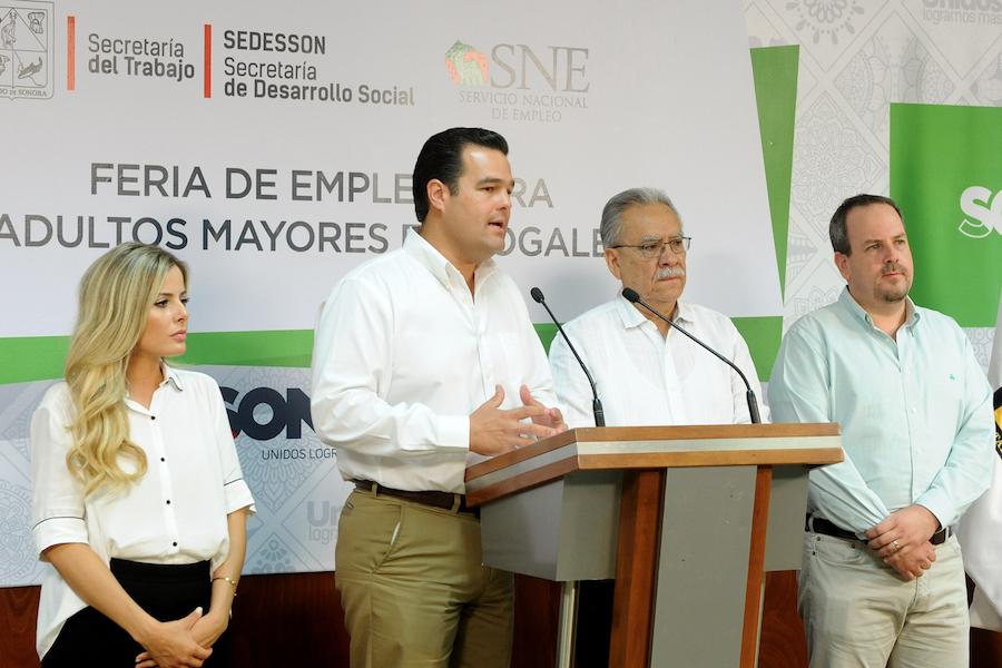 Promueven SEDESSON y ST empleo para adultos mayores en Nogales