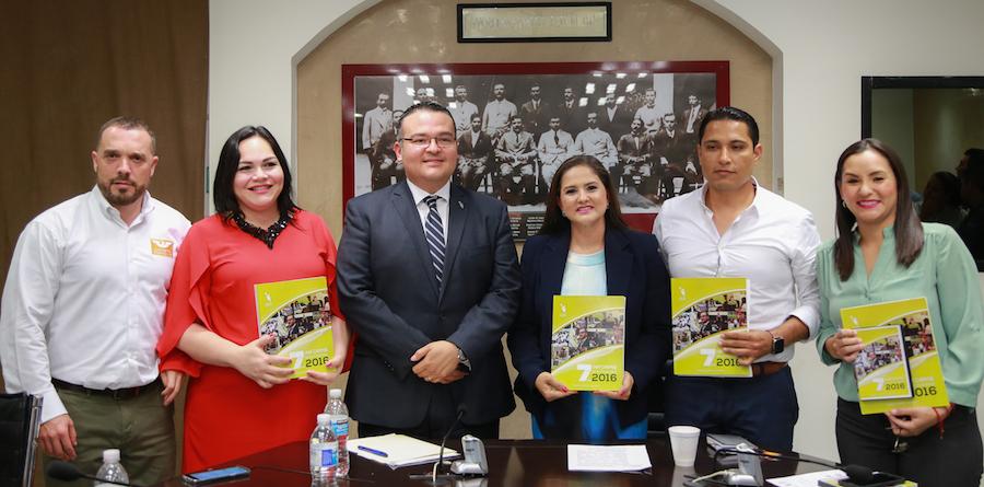 Recibe la Comisión de Justicia y Derechos Humanos séptimo informe de la CEDH