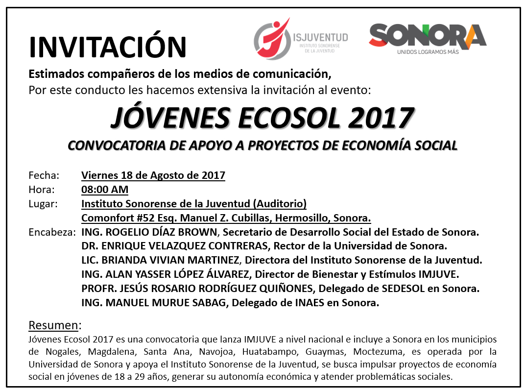 Invitan al Foro binacional sobre derecho y medio ambiente en el Río Yaqui