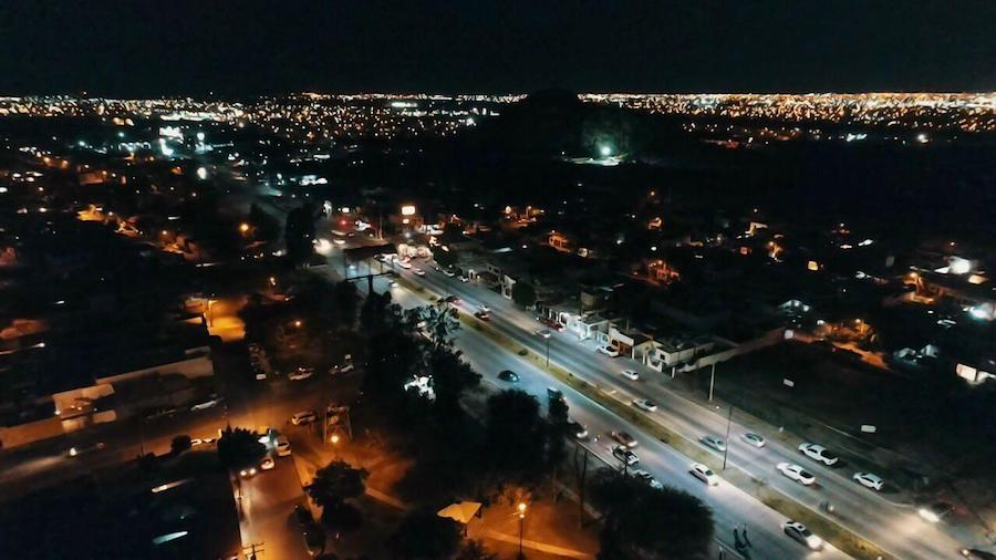 Avanza 56 por ciento reconversión LED de luminarias
