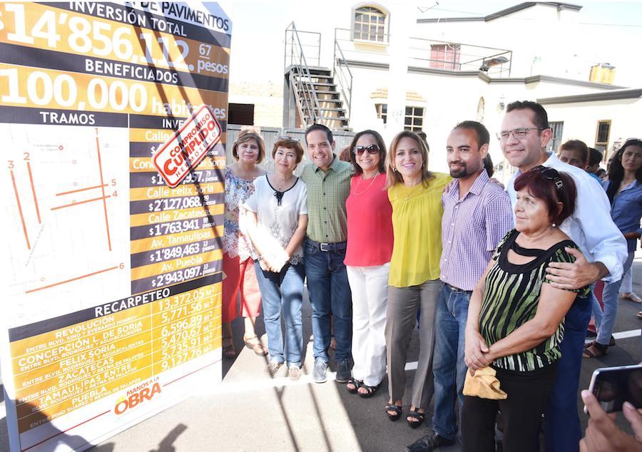 Cumple Maloro Acosta otro compromiso con hermosillenses