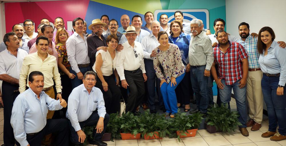 Fortalecerá PAN Sonora relación con organismos empresariales, sindicatos y sociedad civil