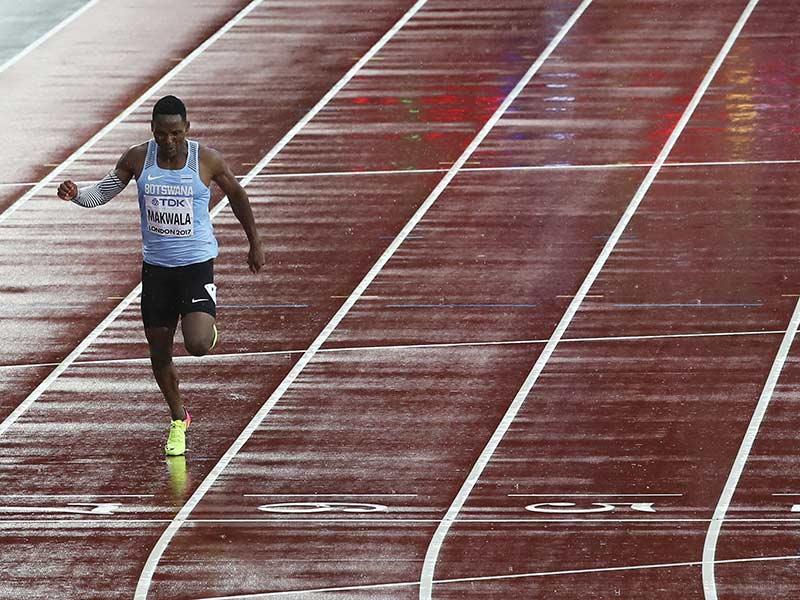 El insólito recorrido de Makwala en el Mundial de Atletismo