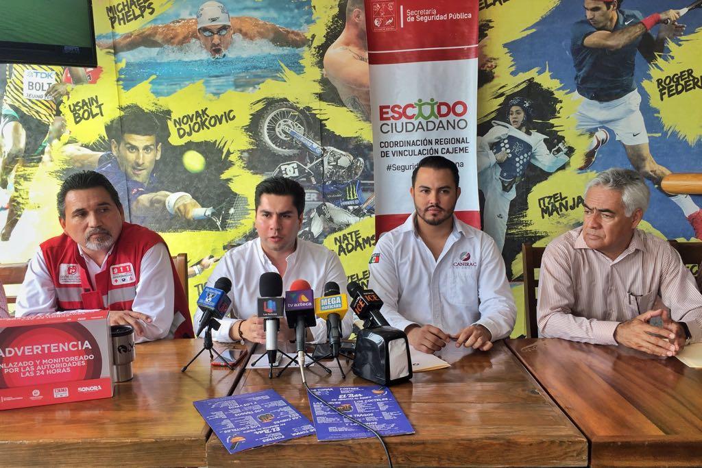 Gestiona Emeterio Ochoa acciones de seguridad para los restauranteros de Cajeme