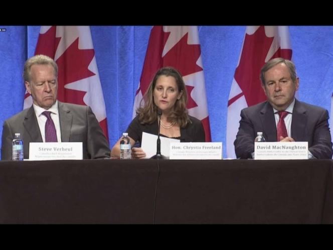 México, EU y Canadá renegocian el TLCAN