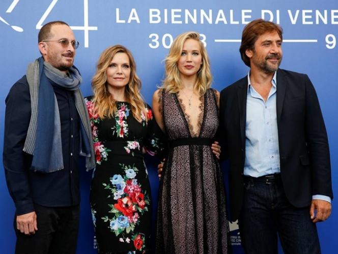 Aronofsky divide a la crítica en Venecia con su película 'Mother!'