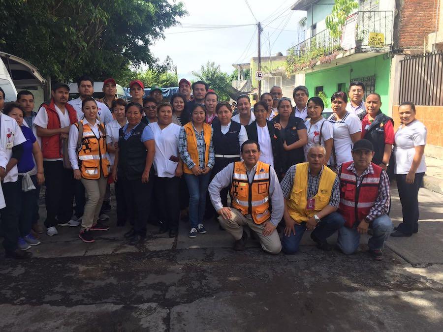 Atiende Brigada Médica de Sonora a seis municipios de Morelos
