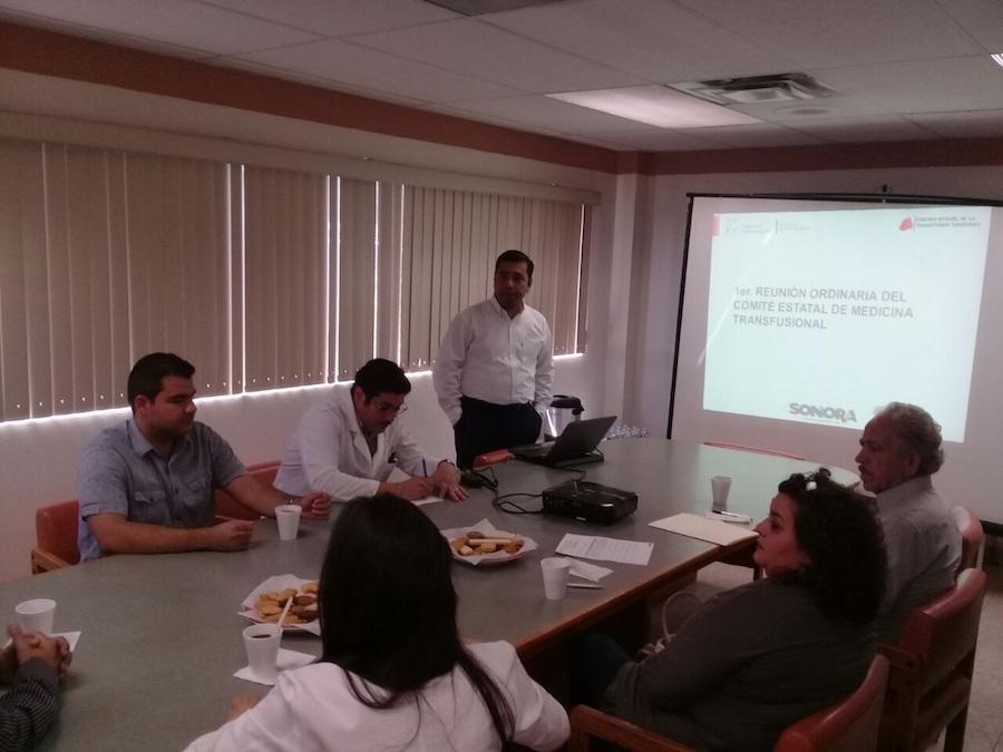 Sonora, primer Estado en conformar el Comité Estatal de Medicina Transfusional
