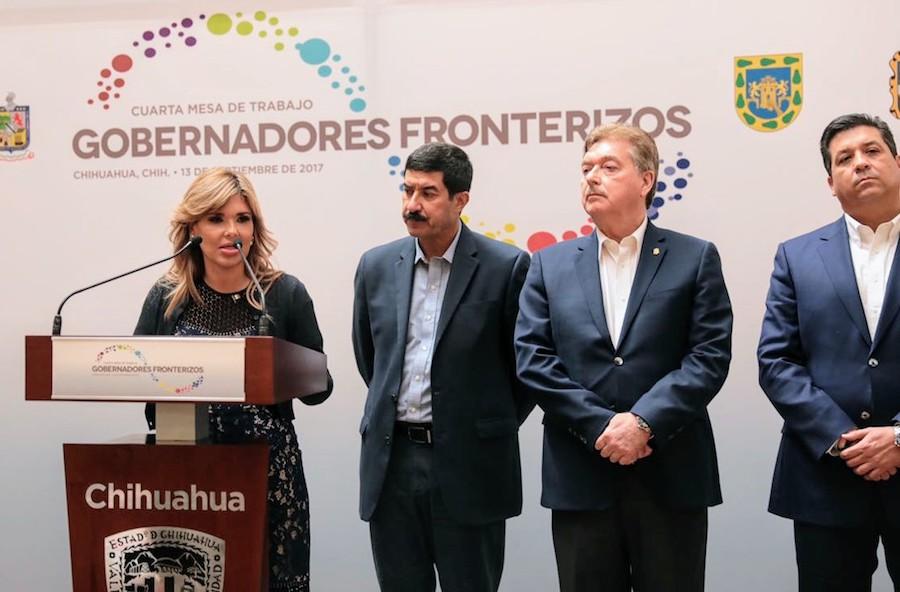Promueve Gobernadora Pavlovich propuestas para restituir el Fondo para Fronteras
