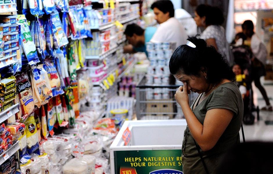 La inflación histórica, dejará a muchos más con hambre