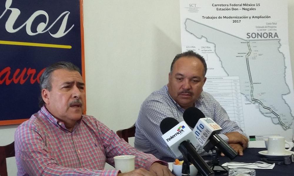 Muestra SCT-Sonora avance en libramientos de Cajeme y Hermosillo
