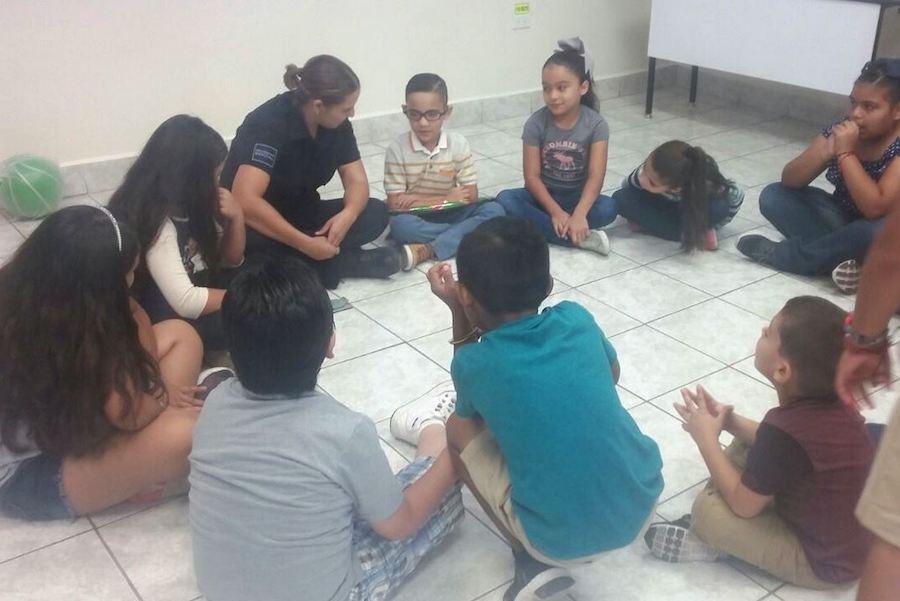 Llevan a escuelas de Caborca programa de prevención del delito