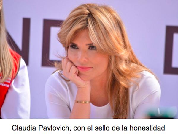 Claudia genera confianza