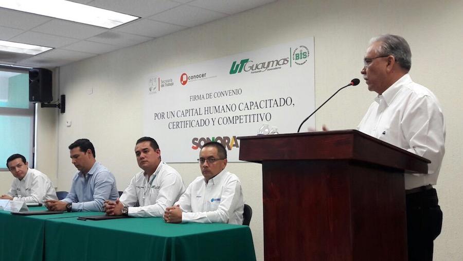 Promueve Secretaría del Trabajo capital humano competitivo en Sonora