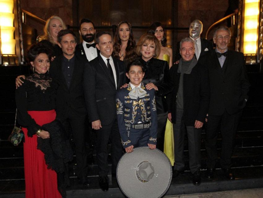 Espectacular premier de 'Coco' en el Palacio de Bellas Artes