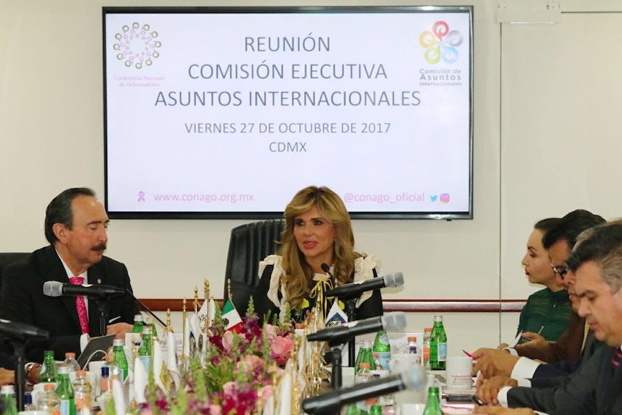 Propone Gobernadora Pavlovich expandir el mercado mexicano a más naciones
