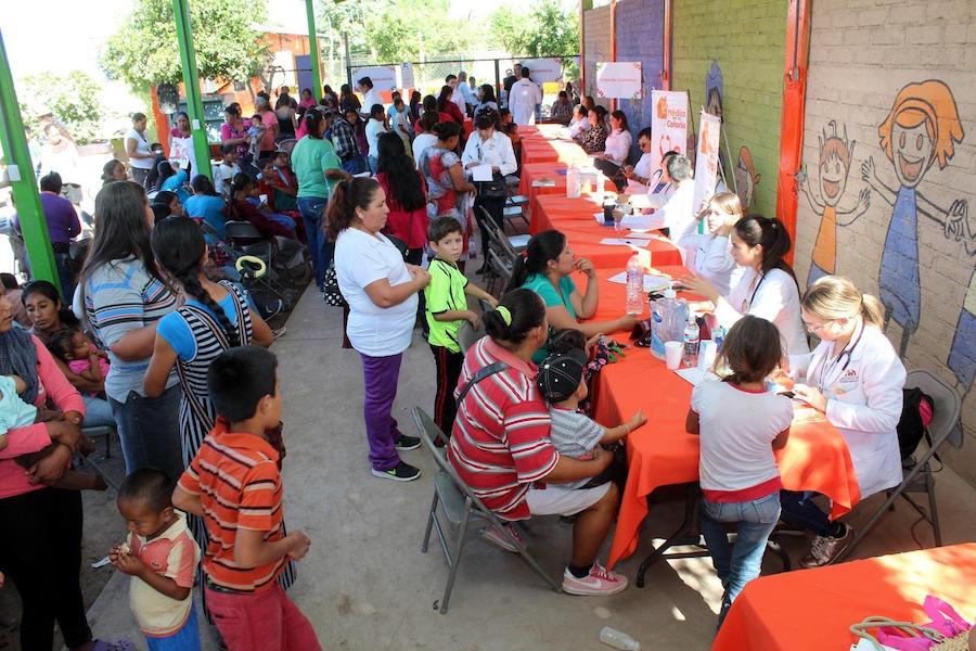 Ofrece DIF Hermosillo jornada Médica Integral en Miguel Alemán