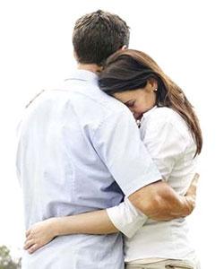 Los miedos desaparecen cuando te abraza la persona correcta