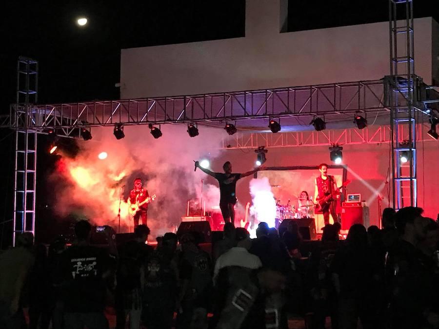 Ruedan a Punta Chueca y disfrutan concierto en Kino Fest 2017