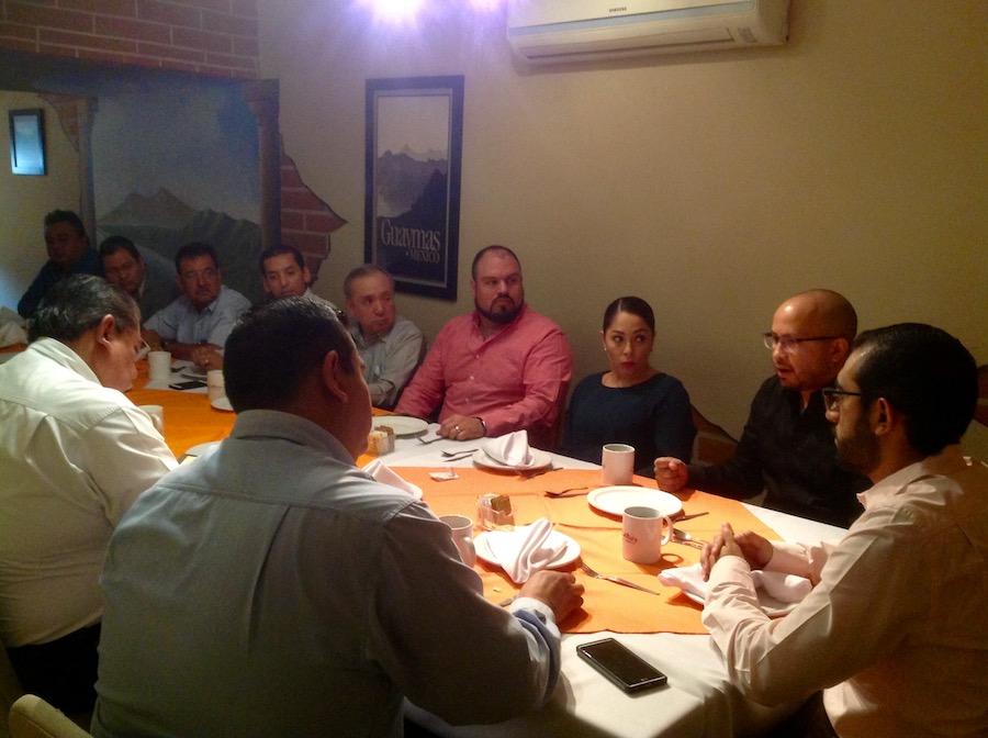 Informa y promueve Fiscal prevención de delitos electorales entre miembros de la CANACOPE Hermosillo