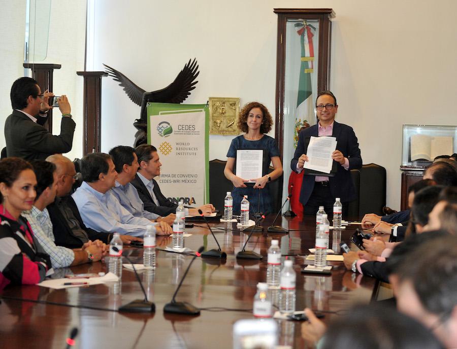 Promueve Gobierno del Estado en coordinación con WRI proyectos sustentables