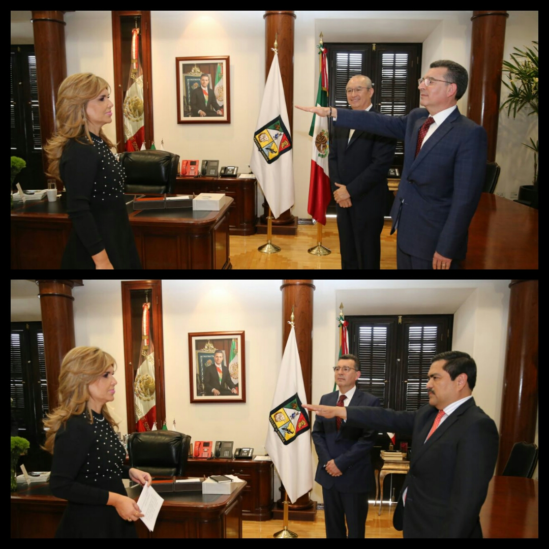 La Gobernadora Claudia Pavlovich tomó la protesta a Enrique Claussen como nuevo titular de Salud y a Pedro Ángel Contreras como Director General del ISSSTESON