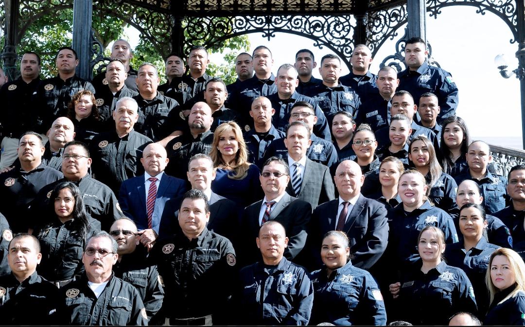 Reconoce Gobernadora Pavlovich a policías estatales