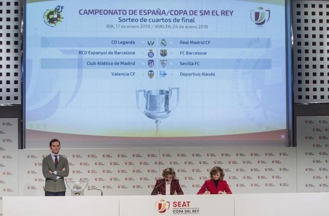 Real Madrid y Barcelona, conocen a sus rivales en Copa
