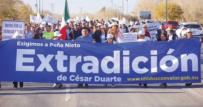 Lástima la marcha de Javier Corral ¿Quién la financia?