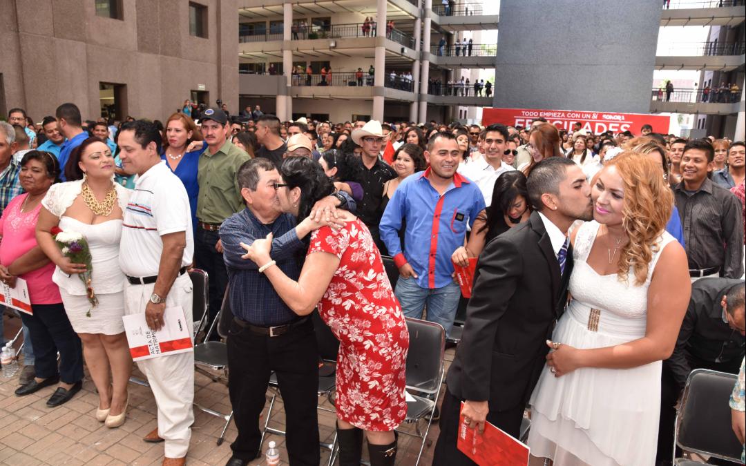 Apoya Ayuntamiento en organización de bodas colectivas