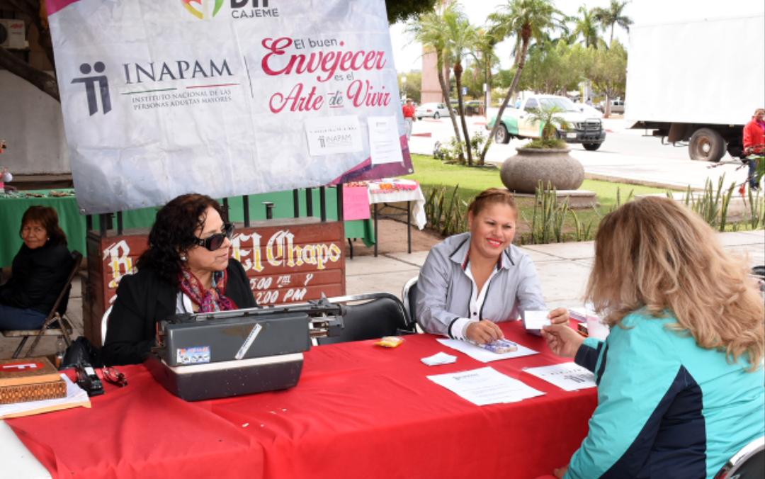 Reanuda INAPAM credencialización para adultos mayores