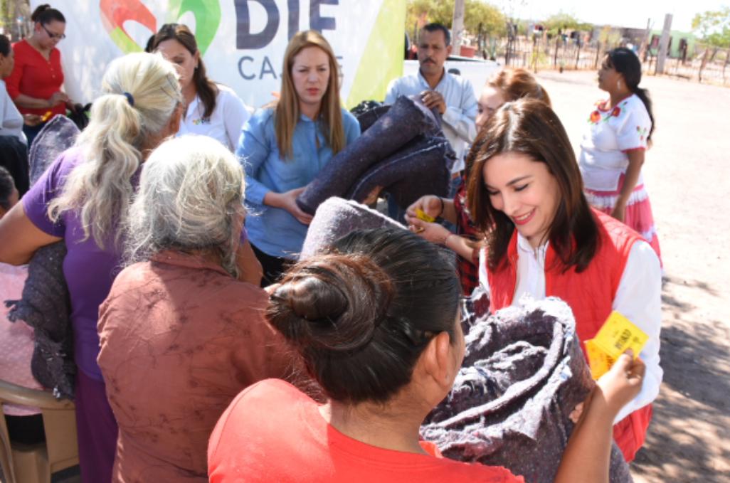 Lleva DIF Cajeme apoyos a la comundidad de La Lomita
