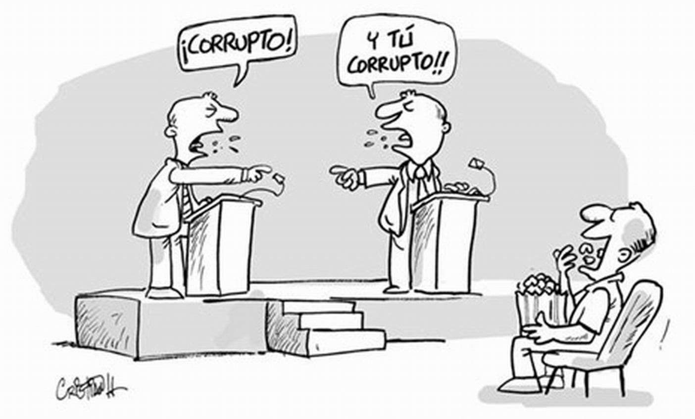 Corrupción como bandera