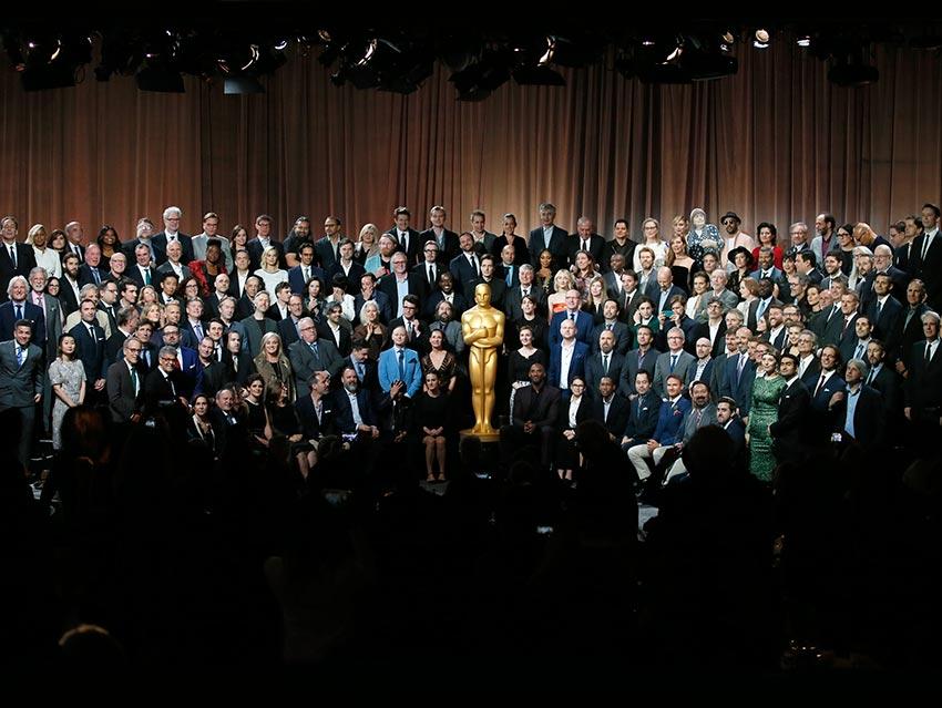 Del Toro se siente 'zen' en el almuerzo del Oscar