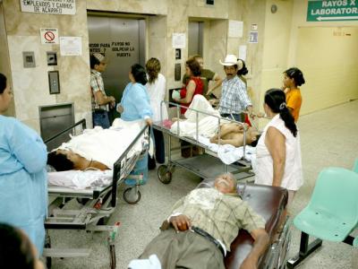 Crisis en el sistema de salud, no caben los enfermos