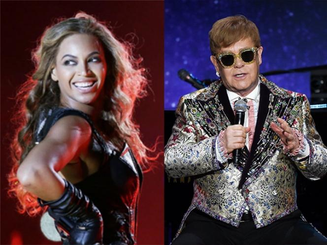 Beyonce y Elton John harán tema para remake de 'El Rey León'
