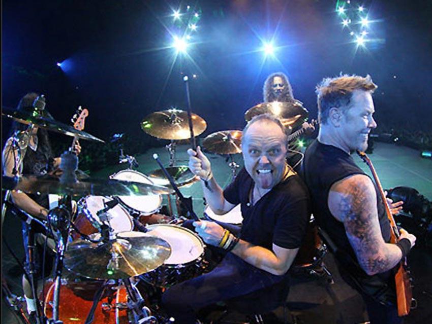 La banda californiana Metallica gana el premio Polar 2018