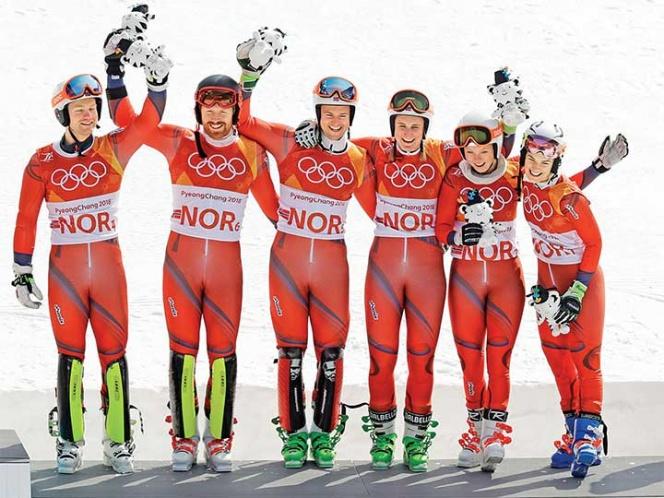 Noruega, con paso de gigante en Pyeongchang