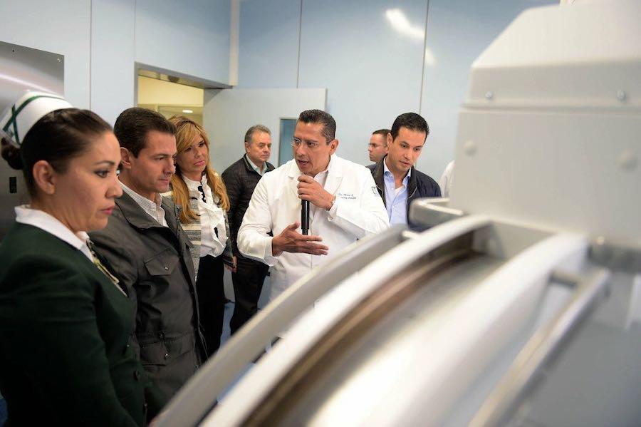 Entregan Gobernadora Pavlovich y Presidente Peña nuevo hospital para 236 mil afiliados del IMSS