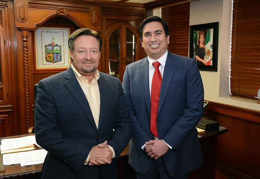 Toma protesta alcalde FFC a Humberto Saldívar como nuevo Secretario de Desarrollo Social
