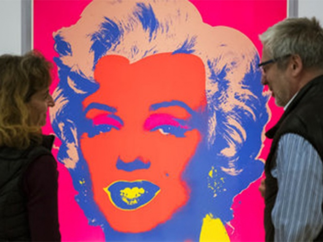 Subastan en México imagen de Marilyn firmada por Warhol